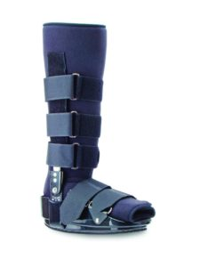 Trulife CAM Walker II foot boot for immobilization of lower limb, ankle, and foot fracture, soft tissue injury, and Achilles tendon repair with unique ankle joint that allows easy access for adjustments