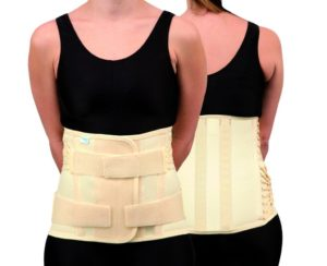 Trulife CAMP XXI Lumbosacral Support for nonspecific lower back pain, moderate lumbar strain, moderate lumbar sprain