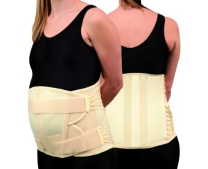 Trulife CAMP XXI Pendulous Lumbosacral Support for nonspecific lower back pain, moderate lumbar strain, moderate lumbar sprain