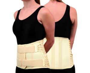 Trulife CAMP XXI Short Lumbosacral Support for nonspecific lower back pain, moderate lumbar strain, moderate lumbar sprain