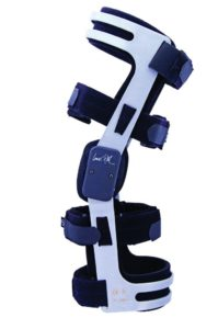 Trulife Lenox Hill Precision Pro knee brace low-profile knee brace for ACL, PCL, MCL, and LCL instabilities, after ligament construction, meniscus reconstruction, and meniscus resection